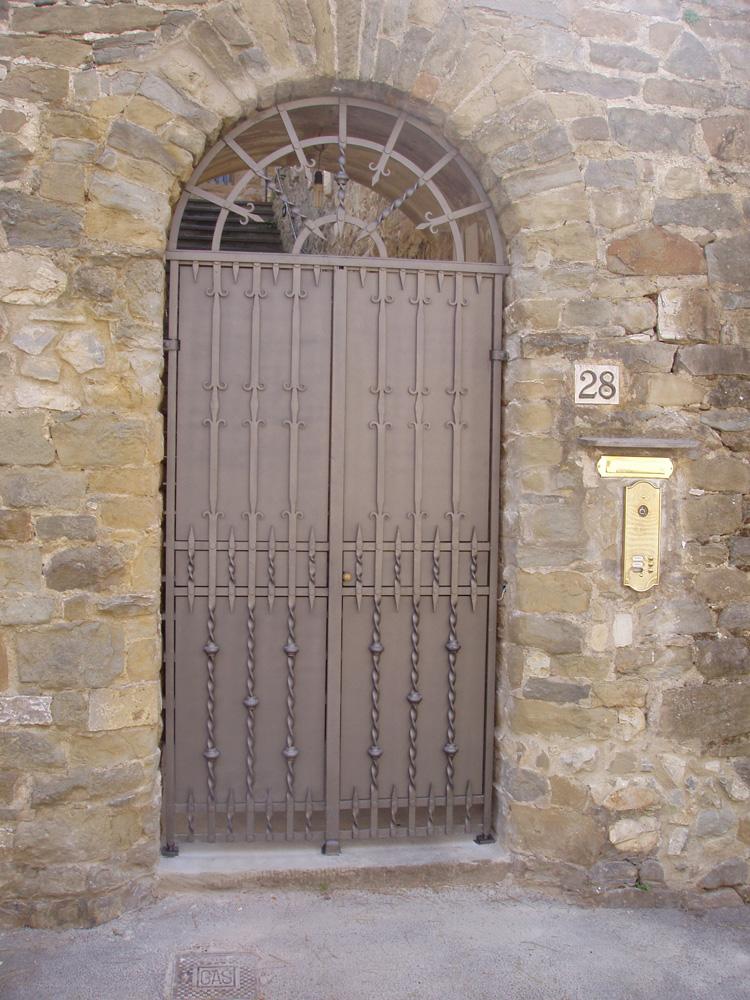 Porte esterne in ferro pz78 regardsdefemmes - Ferro battuto porta ...